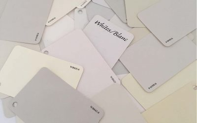 Choosing the right white for your color palette